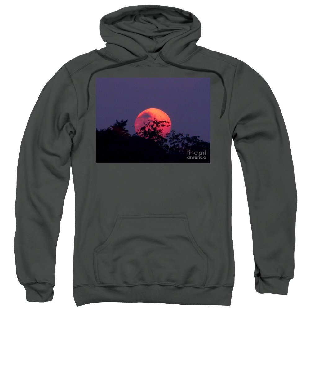 Sunset Sweatshirt featuring the photograph September 22 2007 by Mark Gilman
