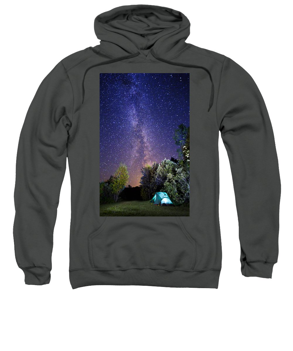 Camping Sweatshirt featuring the photograph September Night Sky by Mircea Costina Photography