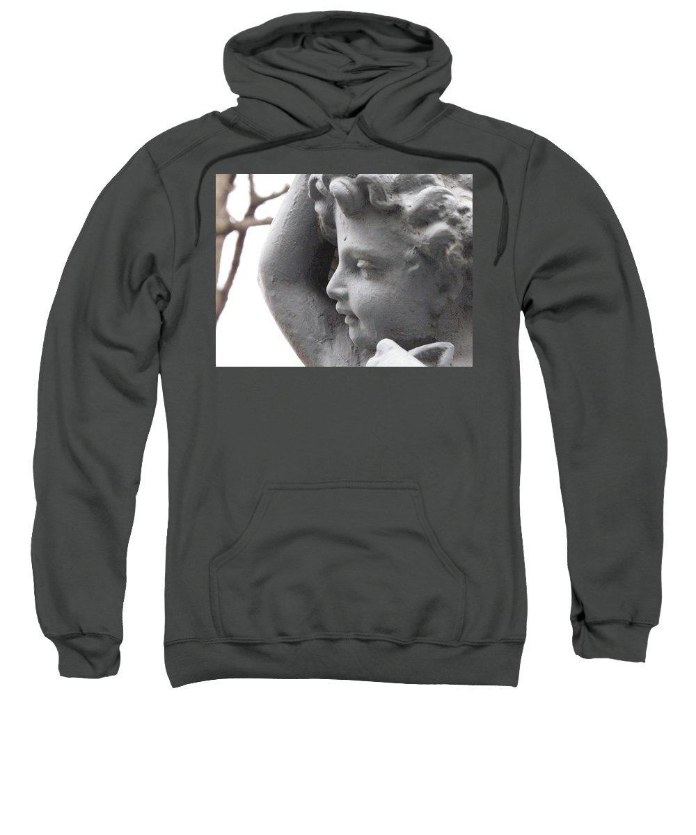 Cherub Sweatshirt featuring the photograph Silent Watcher by Michele Nelson