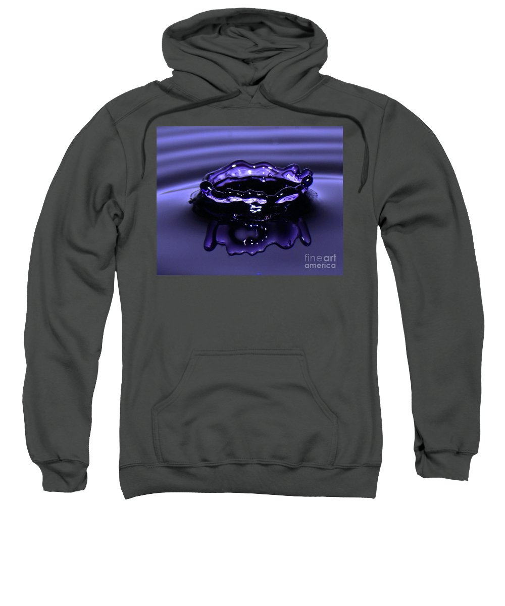 Water Sweatshirt featuring the photograph Simply Purple by Lloyd Alexander
