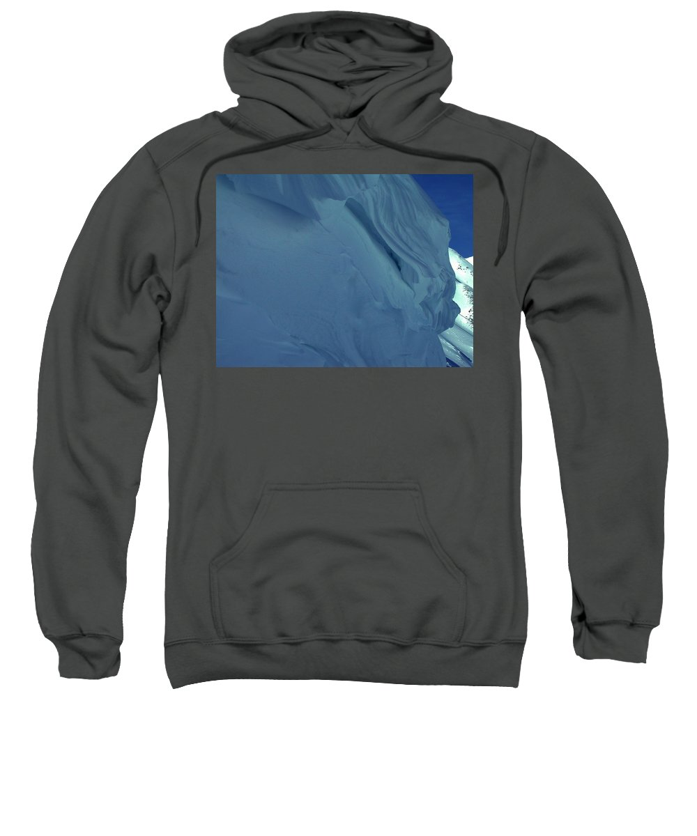 Colette Sweatshirt featuring the photograph Snow In Austria by Colette V Hera Guggenheim