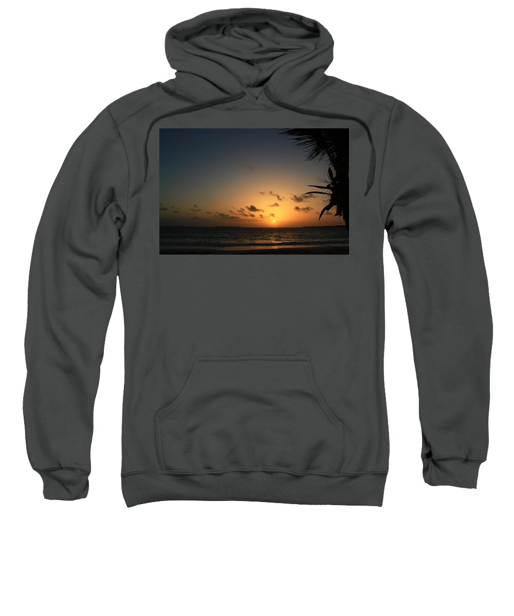 Sunrise Sweatshirt featuring the photograph So Nice by Catie Canetti