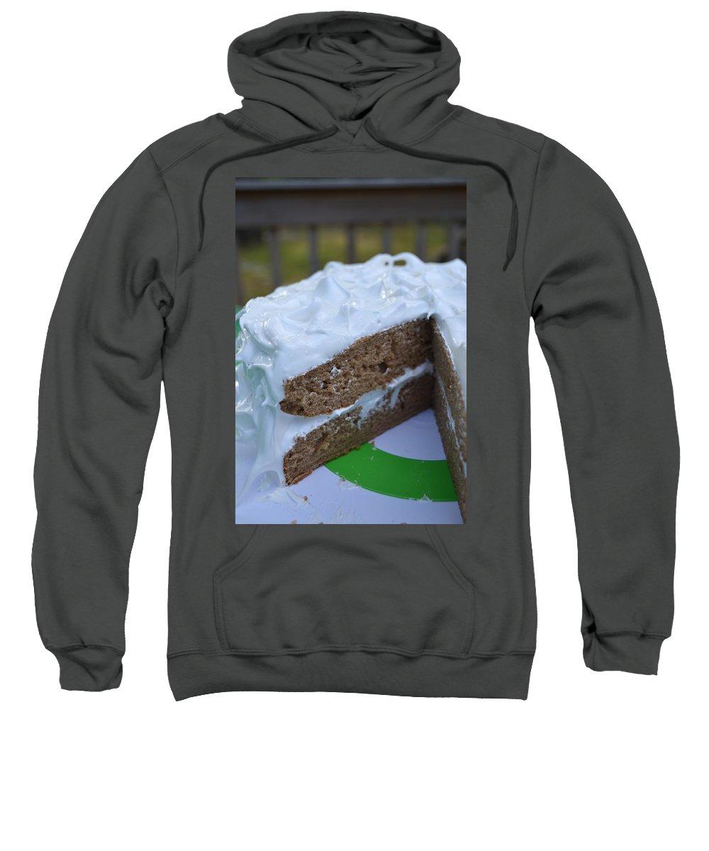 Cake Sweatshirt featuring the photograph Spice Cake by Bonnie Myszka