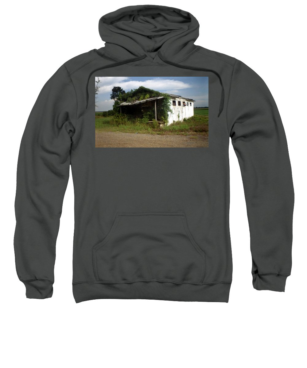 Louisiana Sweatshirt featuring the photograph Store- La Hwy 4 by Doug Duffey