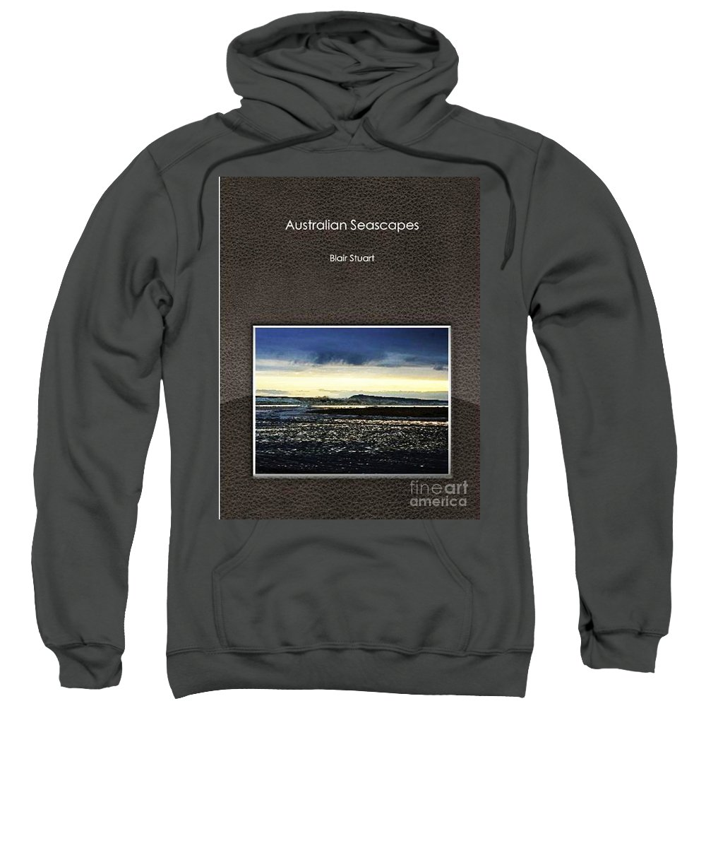 Powlet River Sweatshirt featuring the photograph Stormy Morning Series Photobook by Blair Stuart
