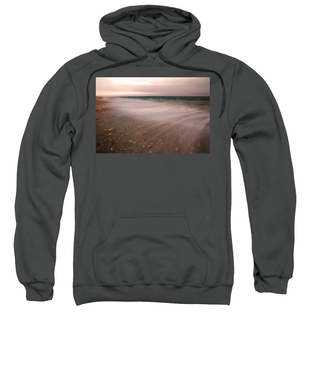 Beach Sweatshirt featuring the photograph Stretching Tides by Betsy Knapp