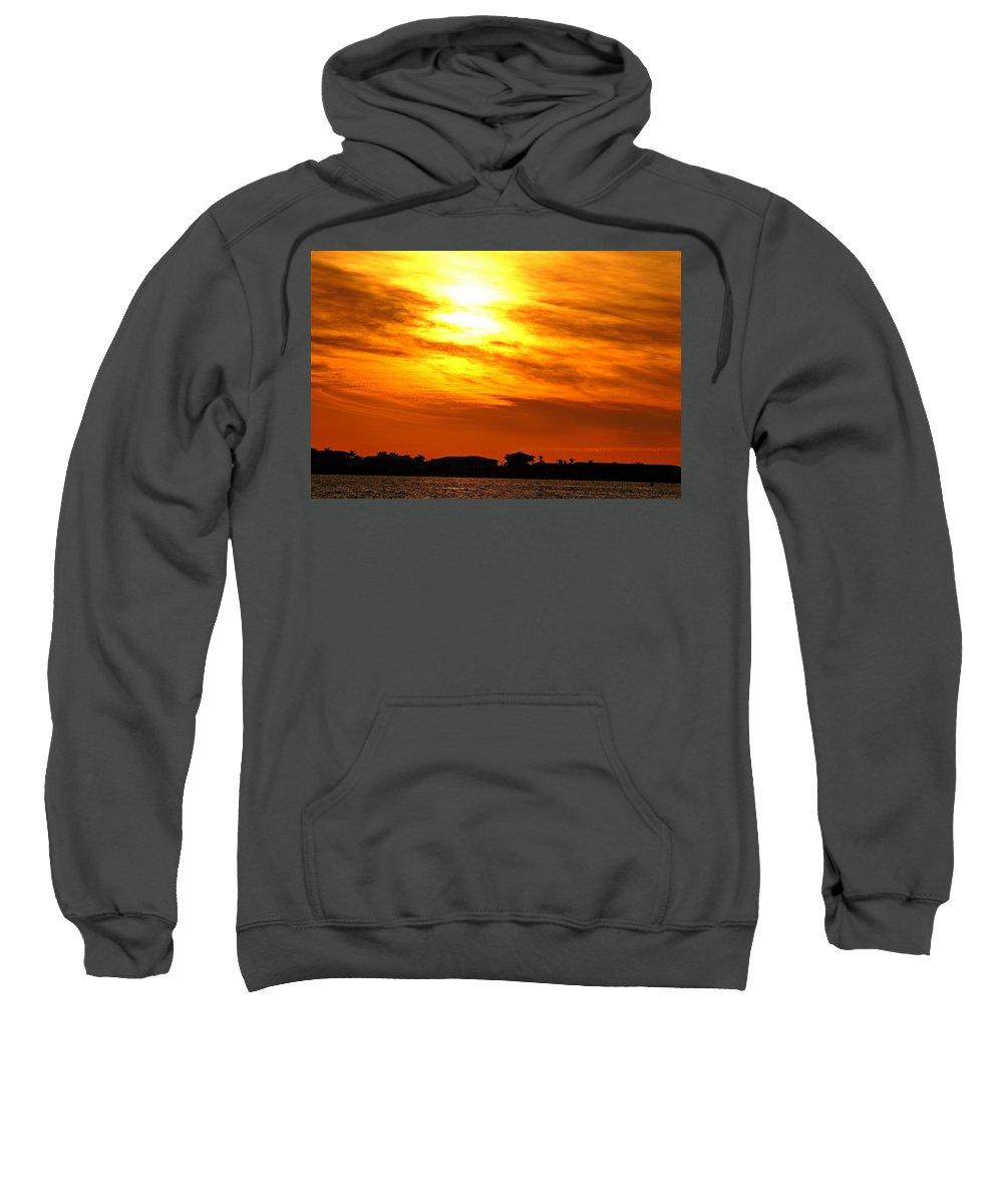 Sunset Sweatshirt featuring the photograph Sunset Ix by Joe Faherty