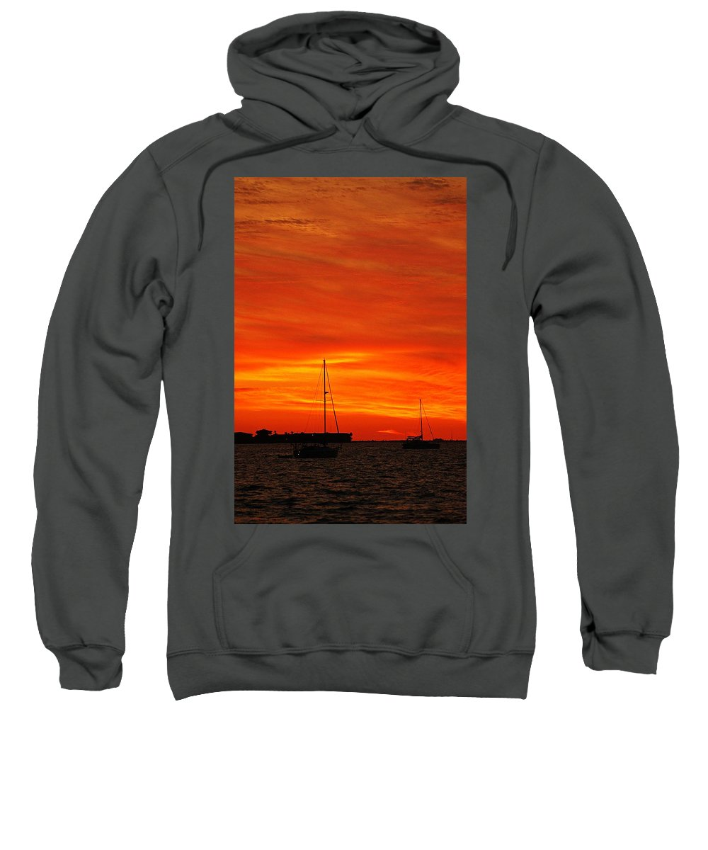 Sunset Sweatshirt featuring the photograph Sunset Xxvii by Joe Faherty
