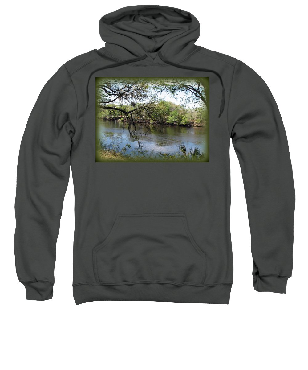 Florida Sweatshirt featuring the photograph Suwannee River by Carla Parris
