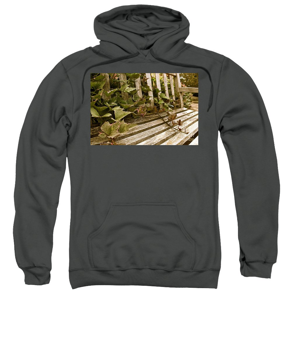Wood Sweatshirt featuring the photograph Takeover by Susan Herber