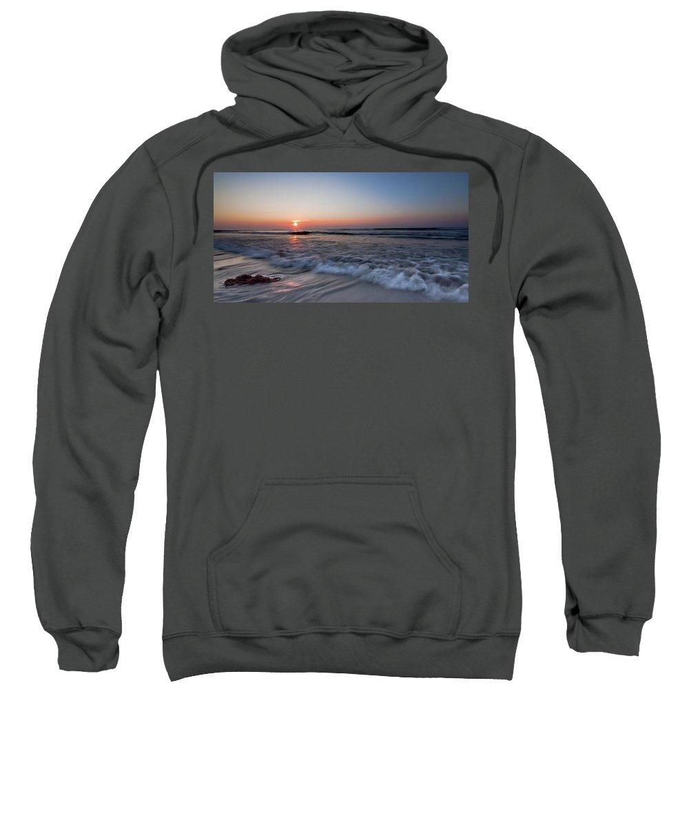 Sea Sweatshirt featuring the photograph The Black Sea by Mircea Costina Photography