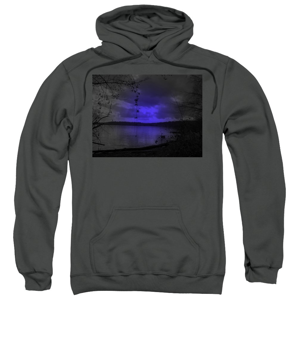 Lake Sweatshirt featuring the photograph The Circle Violet Lake by Kathleen Grace