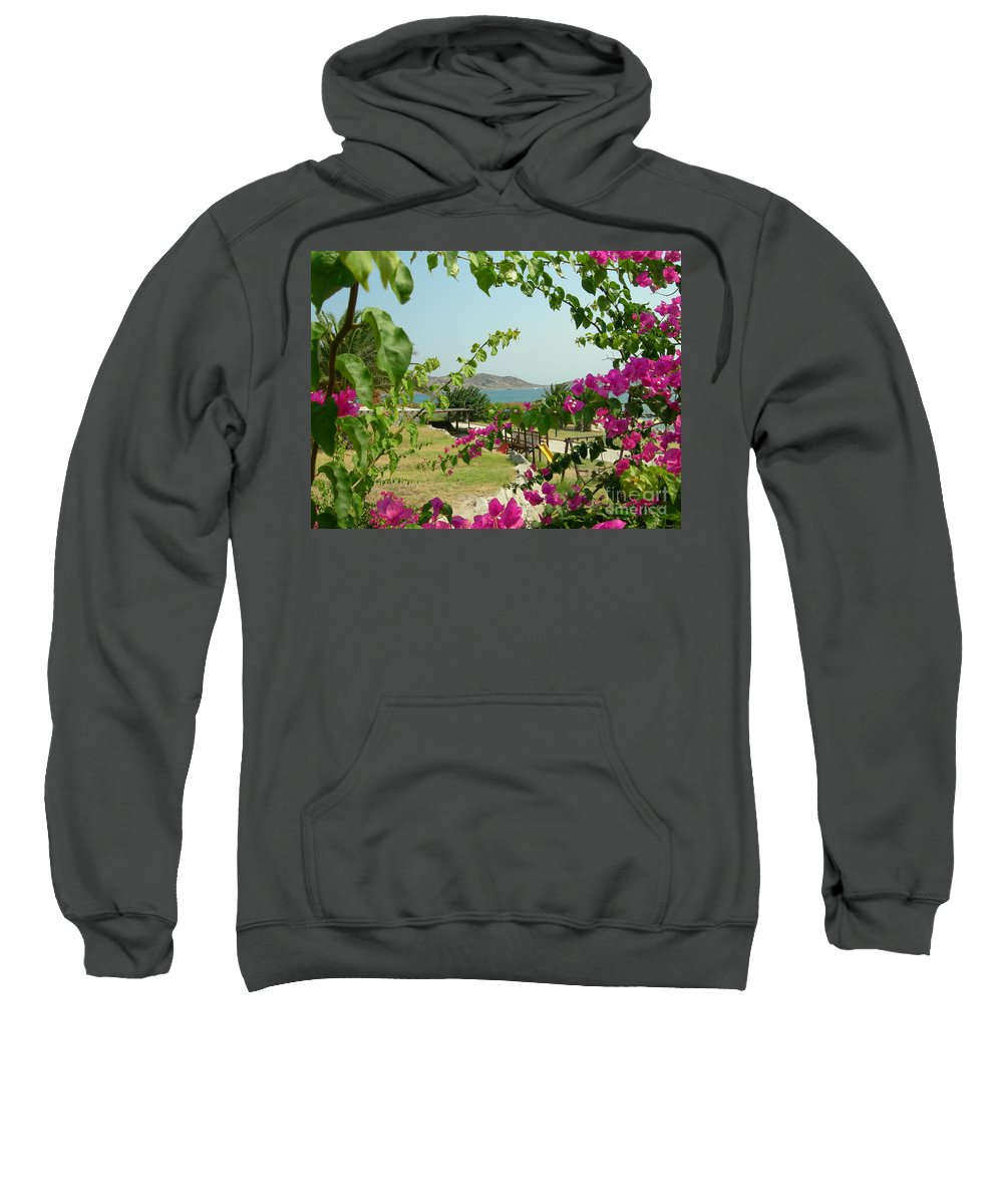 Paros Sweatshirt featuring the photograph The Colors Of Paros by Donato Iannuzzi