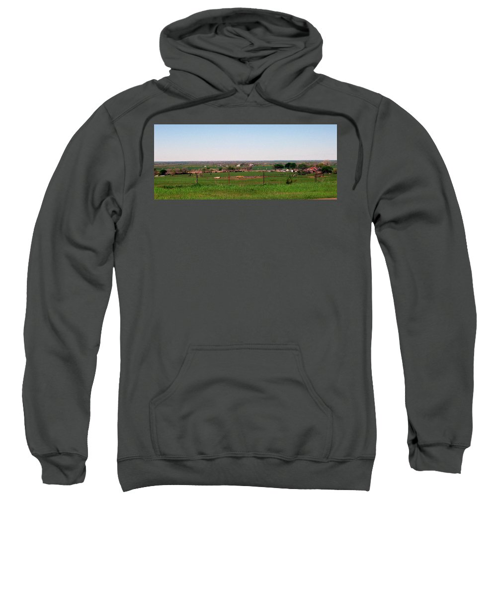 Country Side Sweatshirt featuring the photograph The Country by Amy Hosp