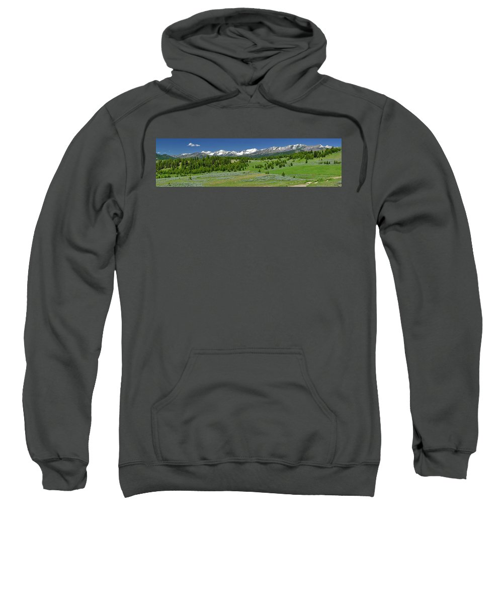 Americas Sweatshirt featuring the photograph The Crazies by Roderick Bley