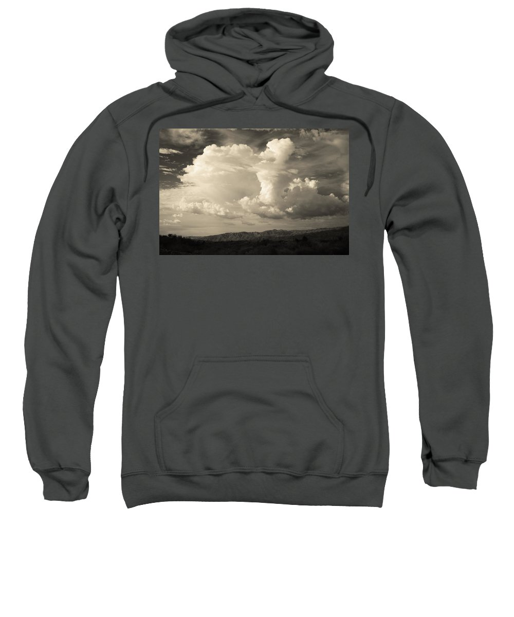Palm Desert Sweatshirt featuring the photograph The Drama by Laurie Search