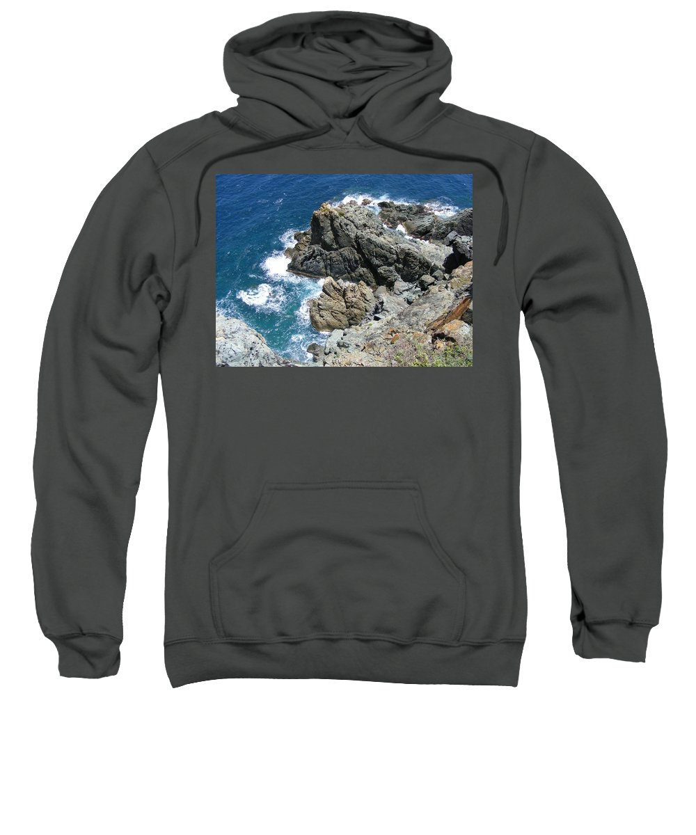 Saint Sweatshirt featuring the photograph The Edge by Salvadore Delvisco