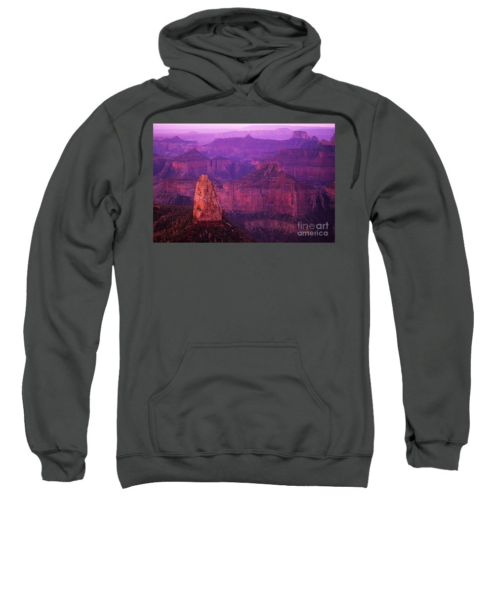 Grand Canyon Sweatshirt featuring the photograph The Grand Canyon North Rim by Bob Christopher