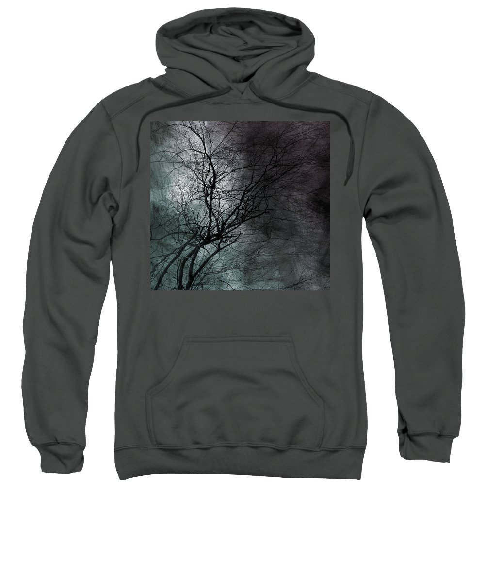 Window Framed Prints Sweatshirt featuring the photograph The Haze Of The Moon by The Artist Project
