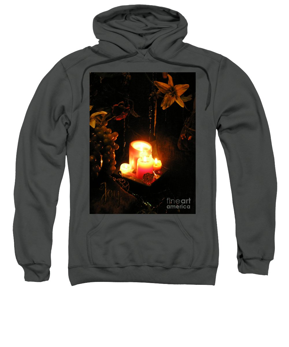 Joy Sweatshirt featuring the photograph The Joy Of Light by Anthony Wilkening