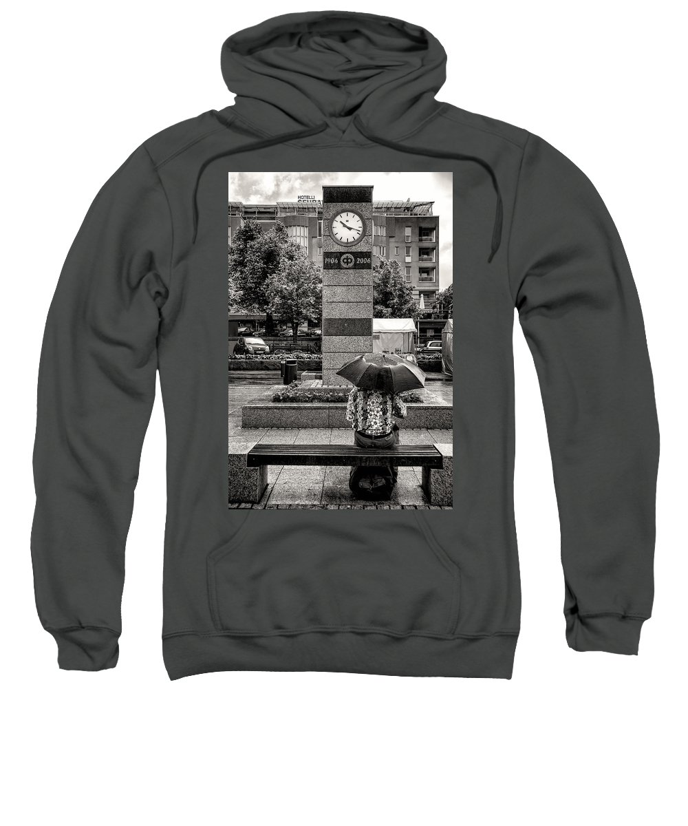 Leisurely Sweatshirt featuring the photograph The Leisurely Life by Ari Salmela