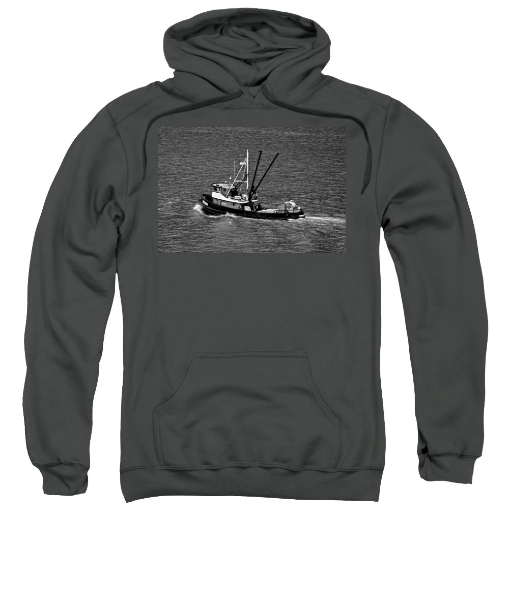 Fishing Boat Sweatshirt featuring the photograph The Narada by Eric Tressler