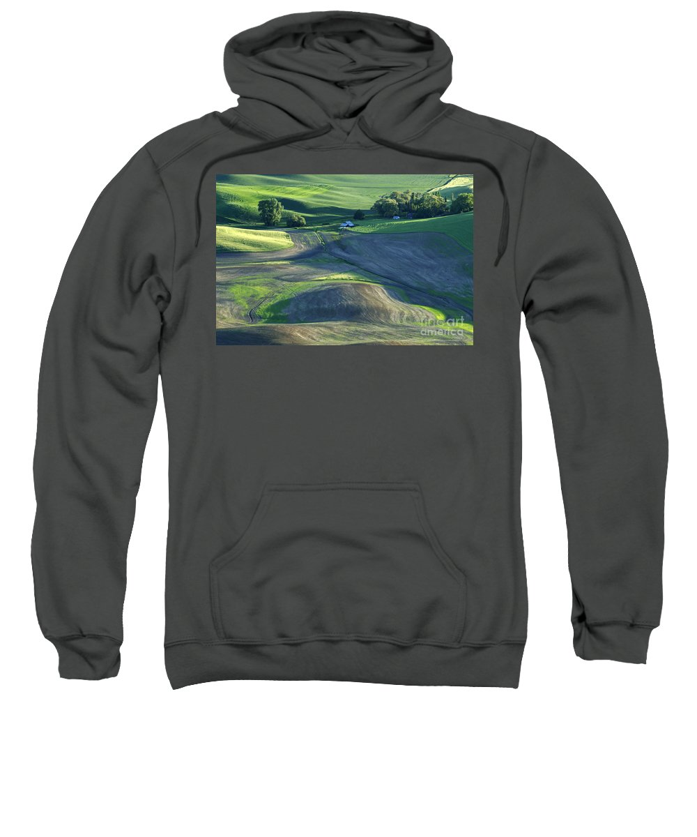 Palouse Sweatshirt featuring the photograph The Palouse 3 by Bob Christopher