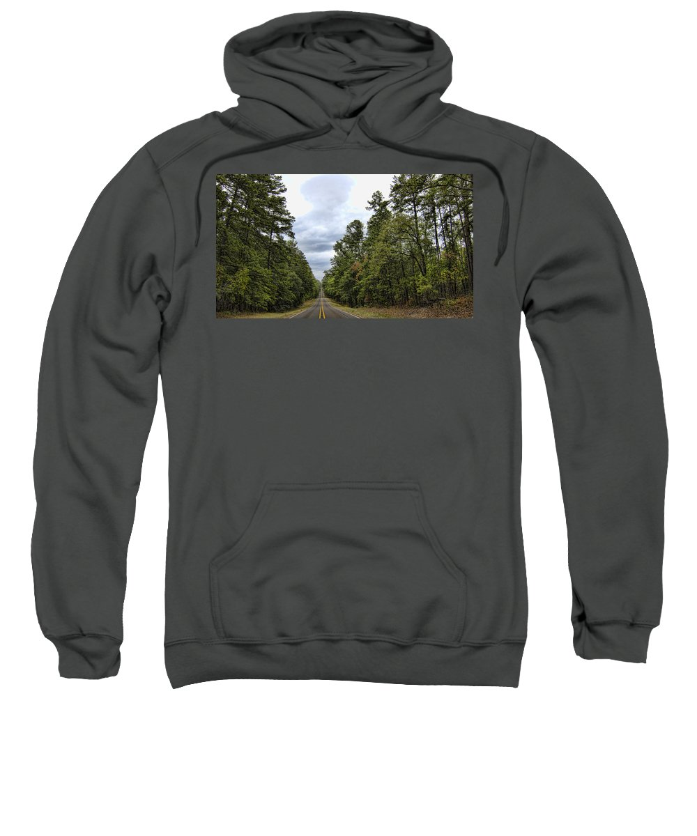 Road Sweatshirt featuring the photograph The Road Ahead by Douglas Barnard