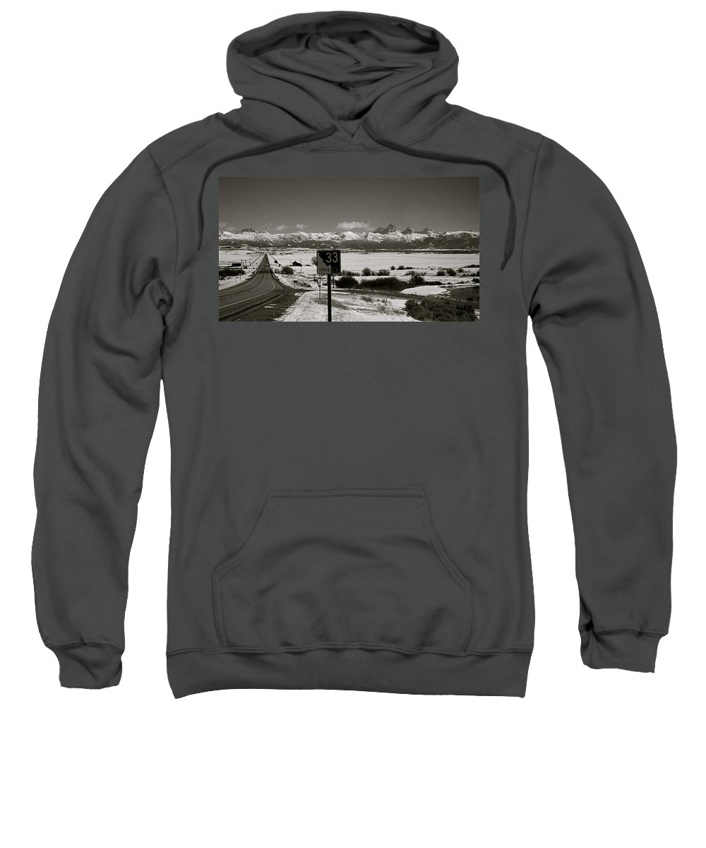 Highway Sweatshirt featuring the photograph The Road Home by Eric Tressler