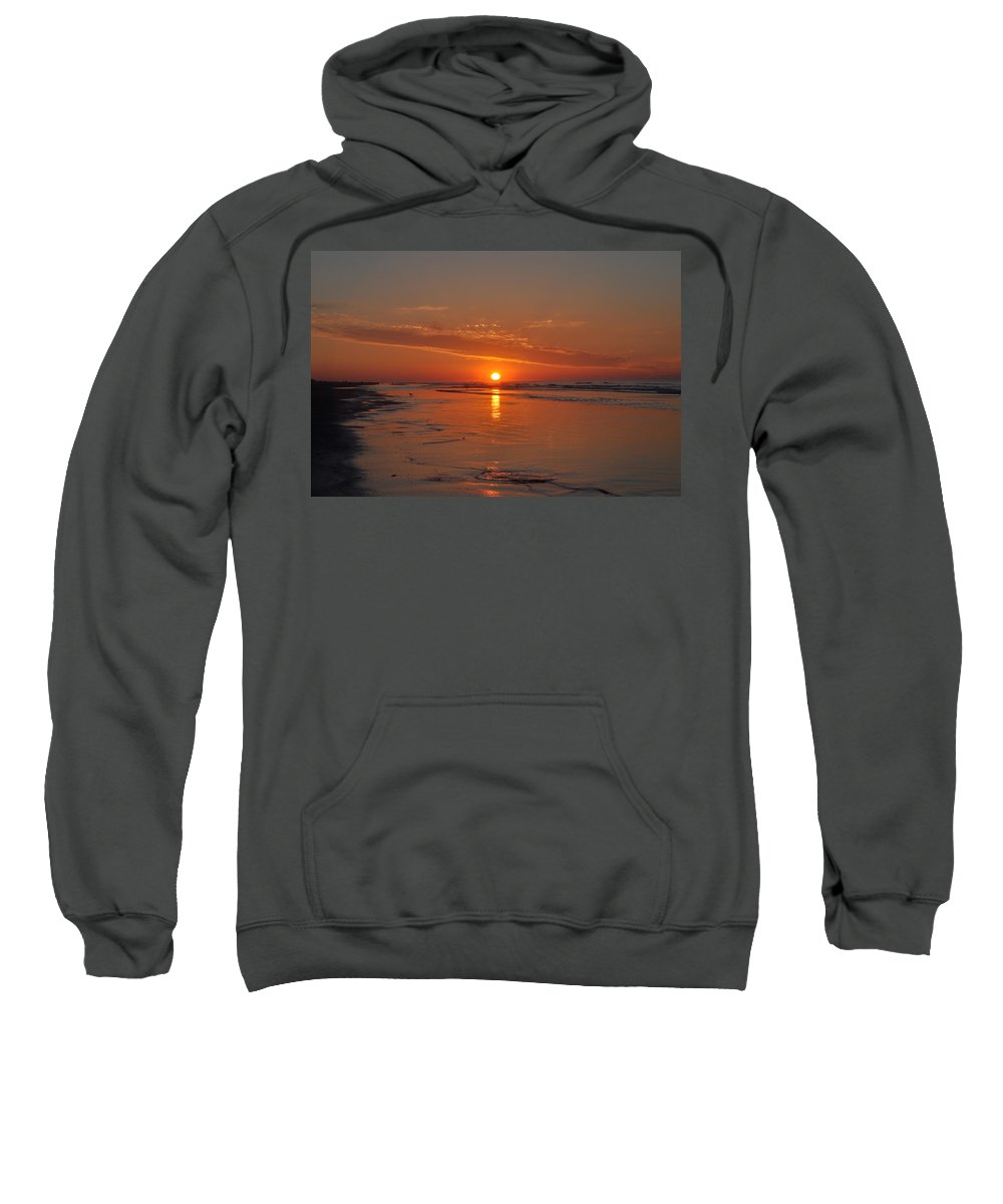 The Sun Also Rises Sweatshirt featuring the photograph The Sun Also Rises by Bill Cannon