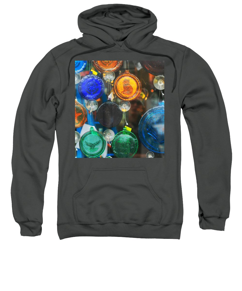 Glass Sweatshirt featuring the photograph Things Remembered by Phil Cappiali Jr