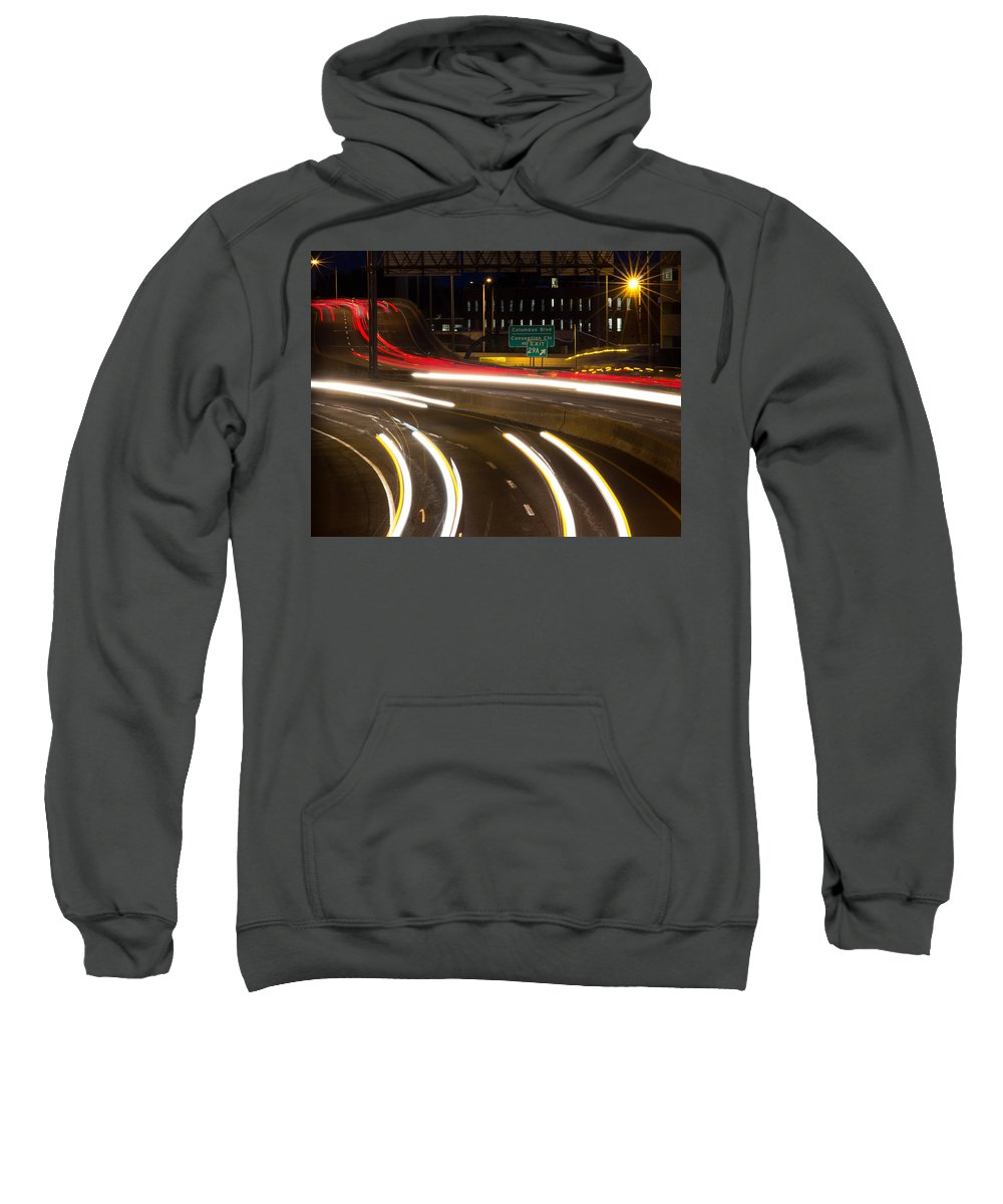 Hartford Sweatshirt featuring the photograph Time Lapse by Frank Pietlock