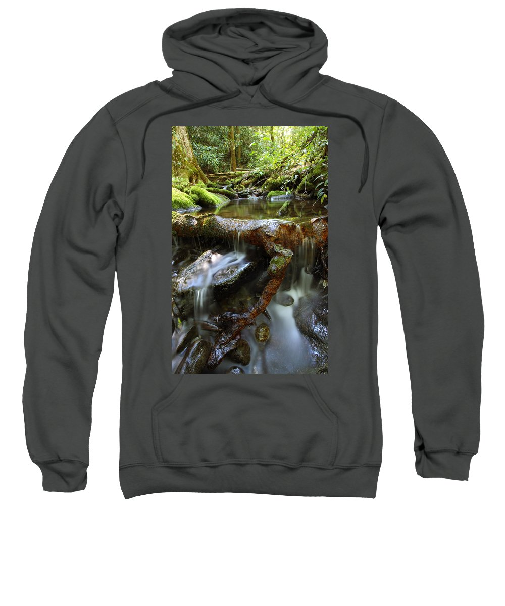 Water Sweatshirt featuring the photograph Tranquility Above Dali by Andrew McInnes