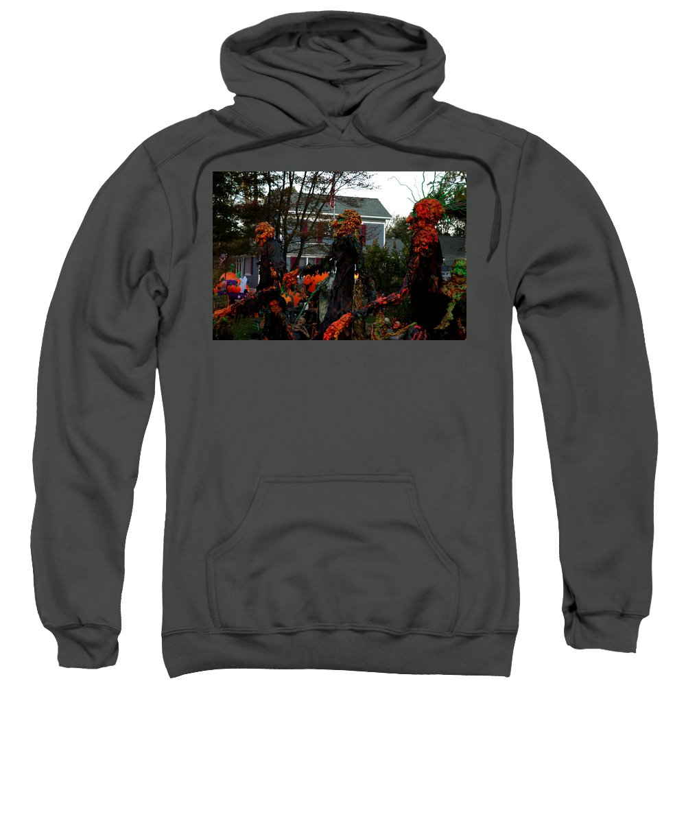 Usa Sweatshirt featuring the photograph Trick Or Treat by LeeAnn McLaneGoetz McLaneGoetzStudioLLCcom