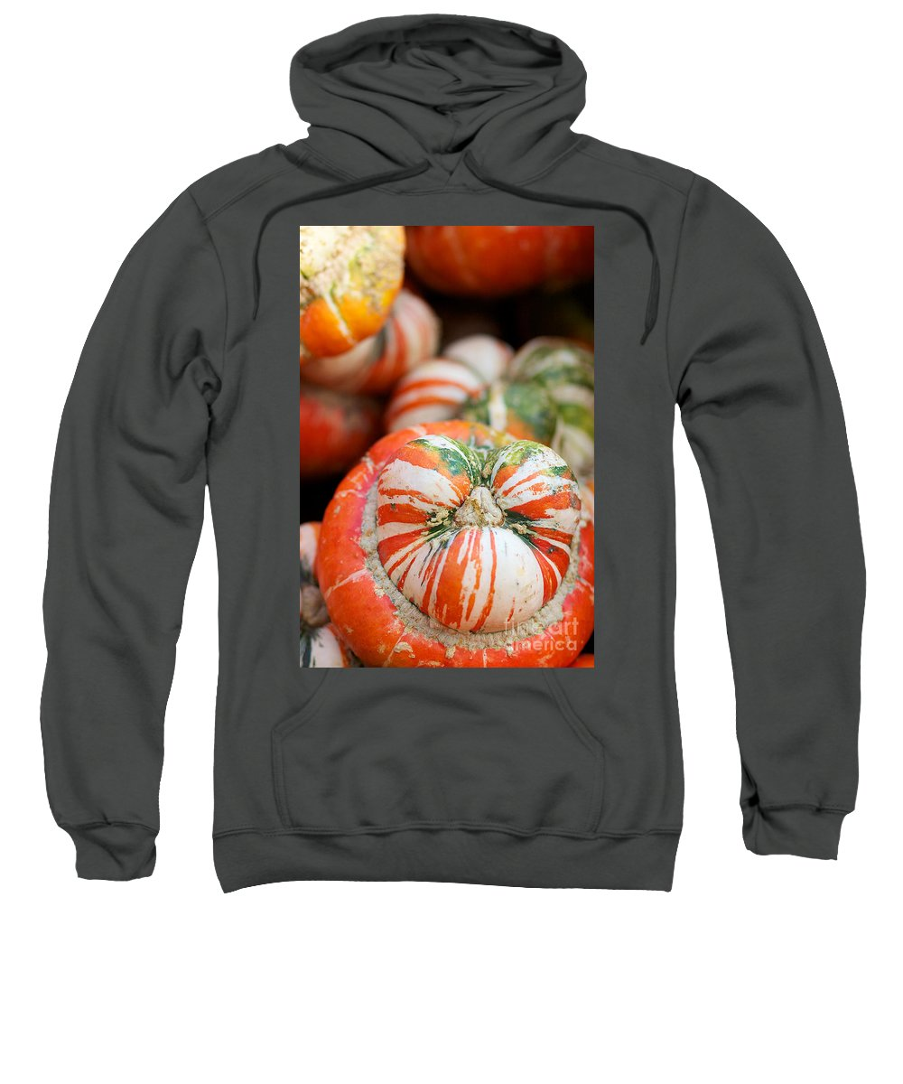 Turbin Squash Sweatshirt featuring the photograph Turban Squash by Brooke Roby