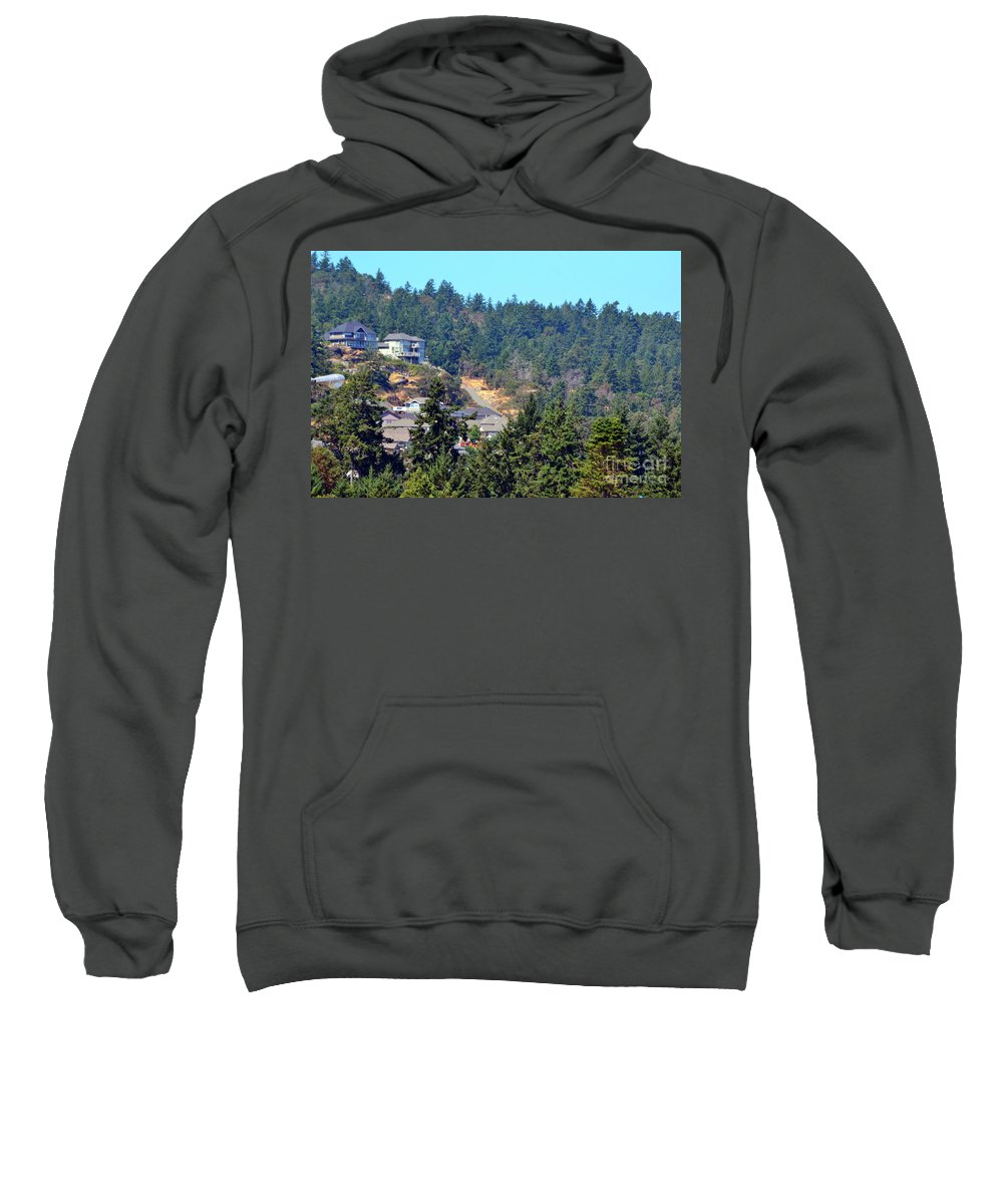 Canada Sweatshirt featuring the photograph Victoria by Traci Cottingham