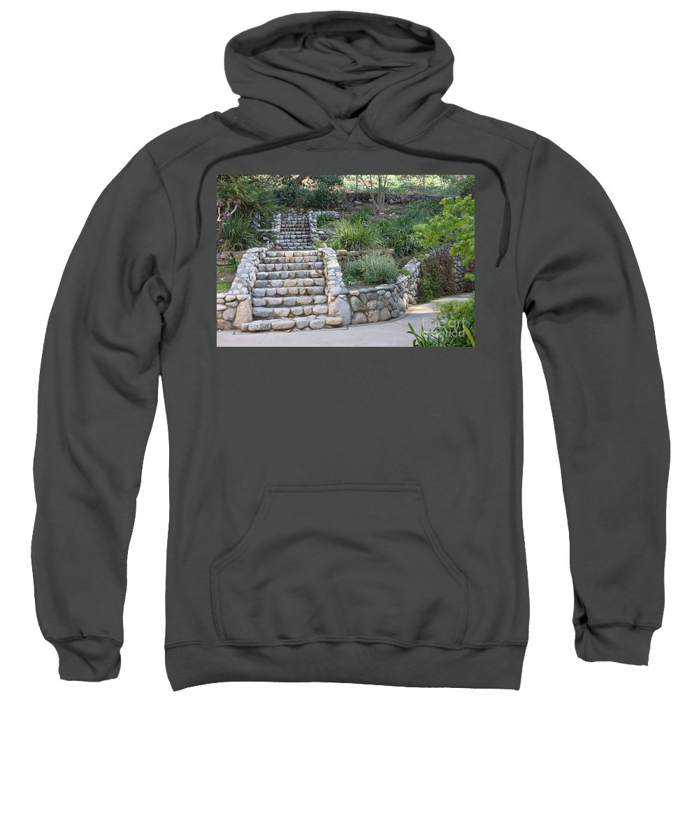 Victorian Sweatshirt featuring the photograph Victorian Stairway by Tommy Anderson