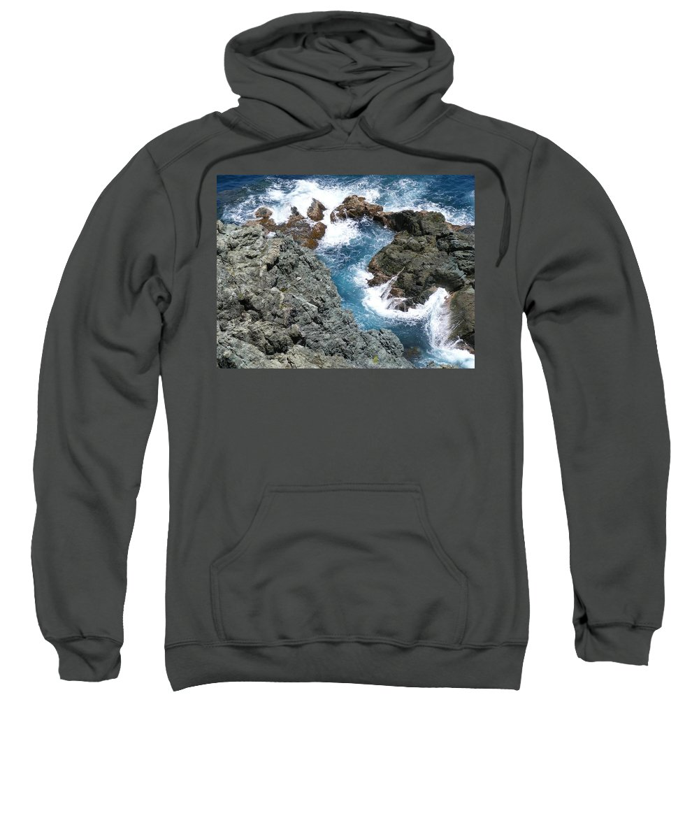 Saint Sweatshirt featuring the photograph Wading Pool by Salvadore Delvisco