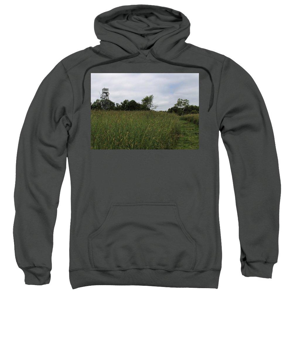 Ward Hill Sweatshirt featuring the photograph Holt Hill by Jeff Heimlich