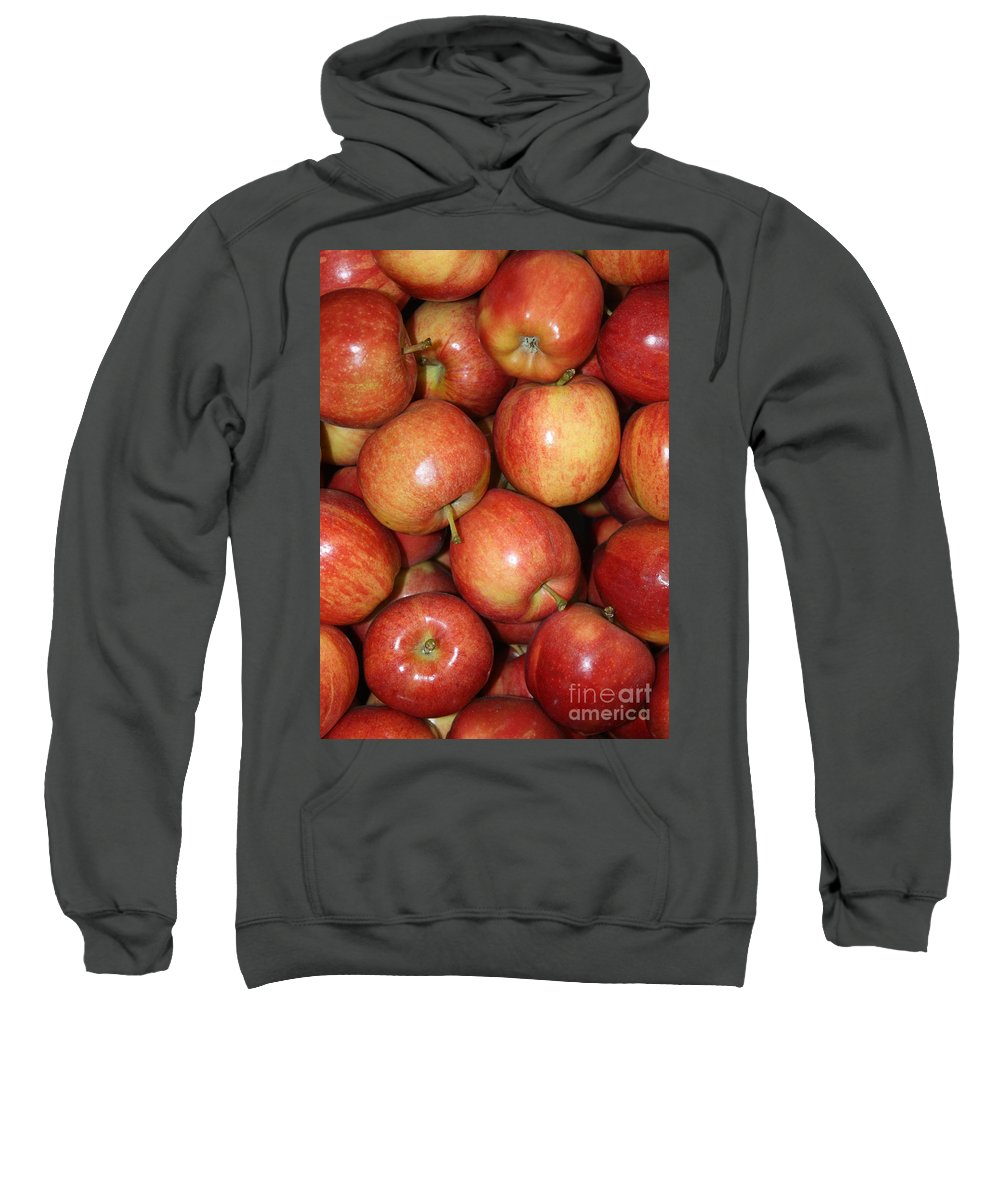 Apple Sweatshirt featuring the photograph Washington Apples by Carol Groenen