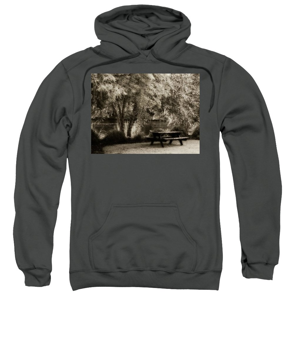 Sweatshirt featuring the photograph Watch A While by Michele Nelson