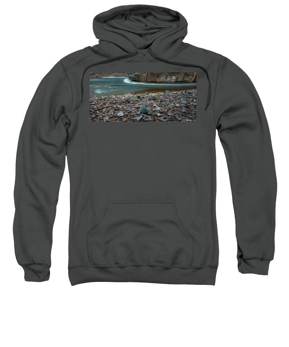Blue Hour Sweatshirt featuring the photograph Water On Mars by Jakub Sisak