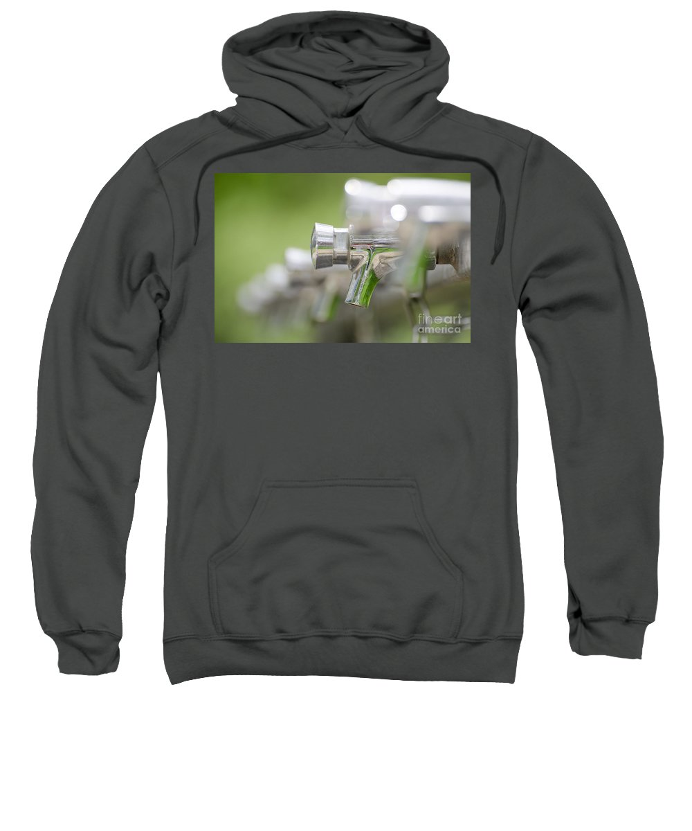 Water Tap Sweatshirt featuring the photograph Water Taps by Mats Silvan