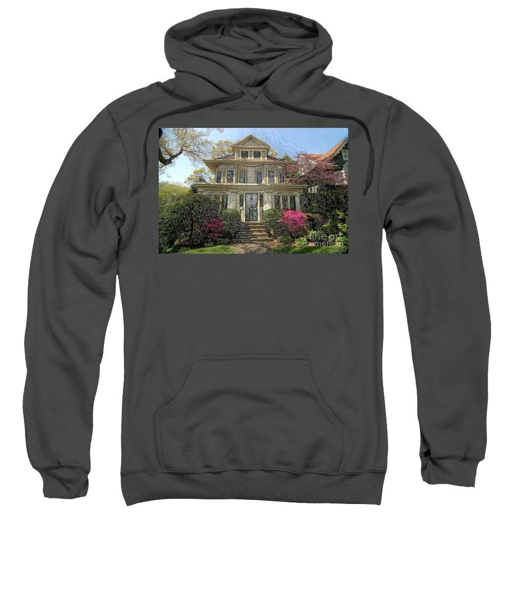 Bklyn Sweatshirt featuring the photograph Wellington Place by Mark Gilman