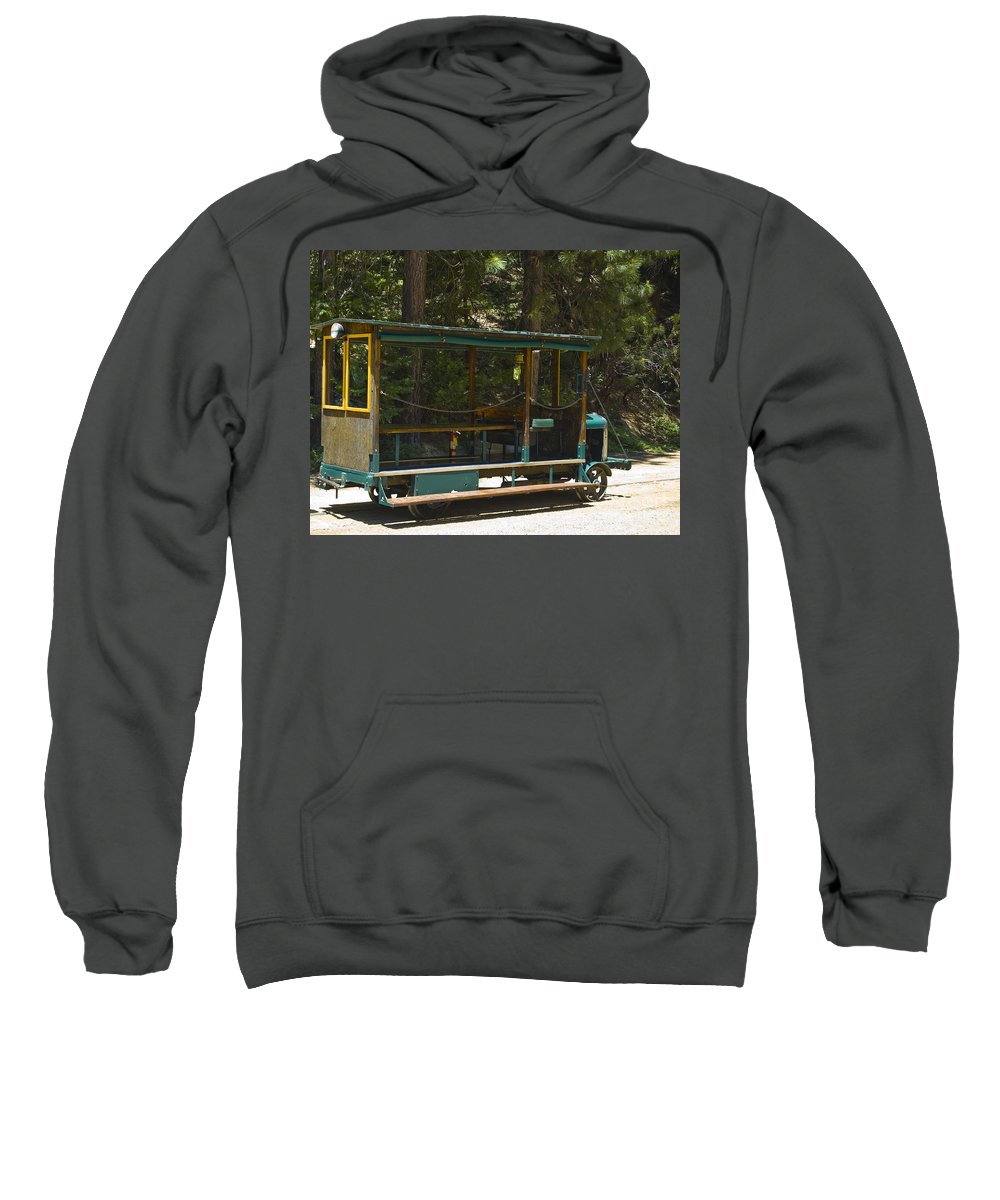 Wslc Sweatshirt featuring the photograph West Side Speeder by Tim Mulina