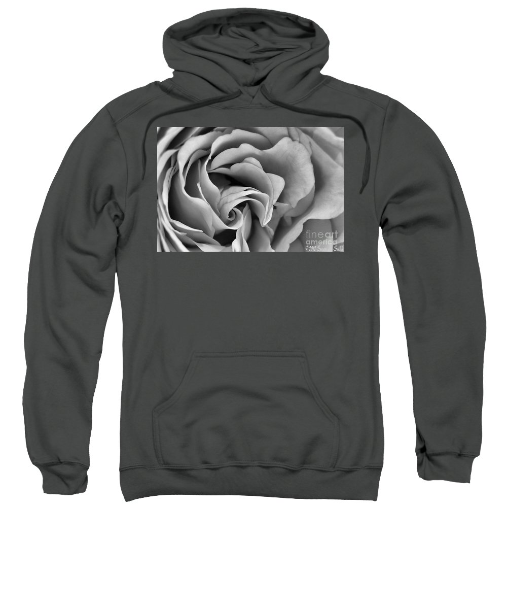 Flower Sweatshirt featuring the photograph Where It Begins by Susan Smith