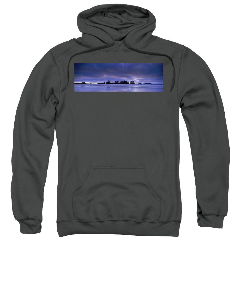 Beaches Sweatshirt featuring the photograph Wickaninish Beach, Pacific Rim National by David Nunuk