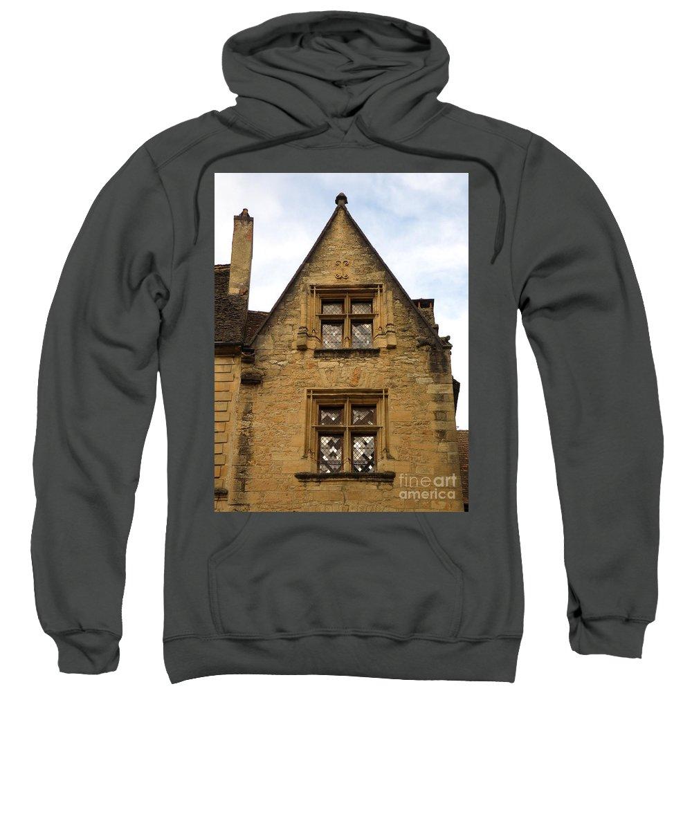 Windows Sweatshirt featuring the photograph Windows Of Sarlat by Lainie Wrightson