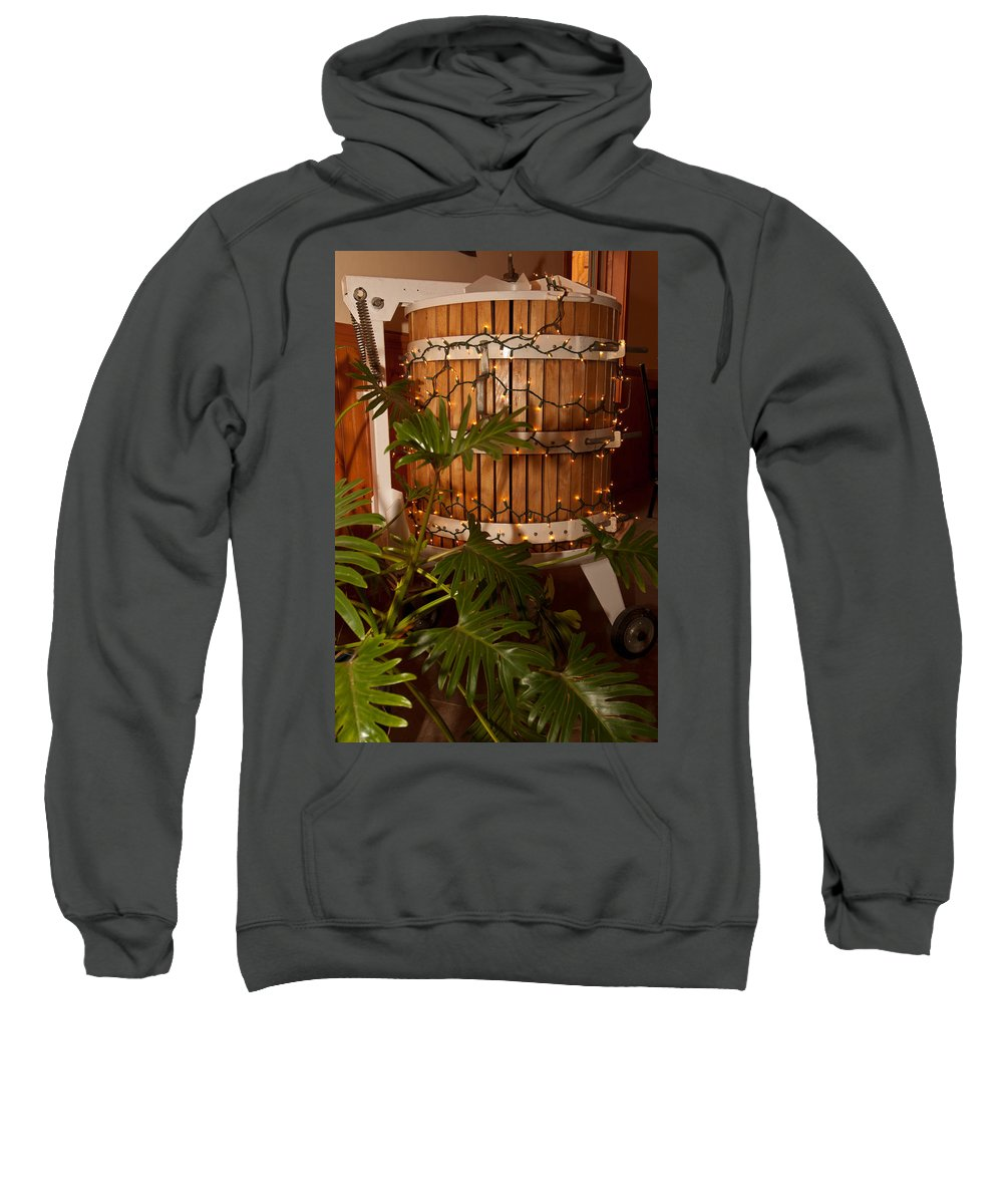 wine Press Sweatshirt featuring the photograph Wine Press by Paul Mangold