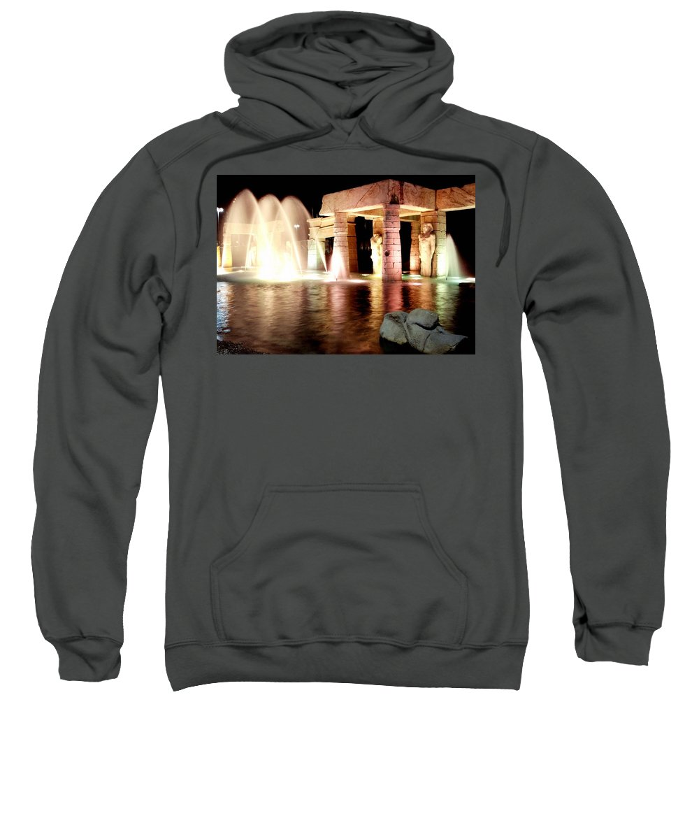 Marcin Sweatshirt featuring the photograph World 2 by Marcin and Dawid Witukiewicz